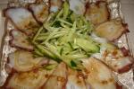 タコのカルパッチョ@ナンプラー風味