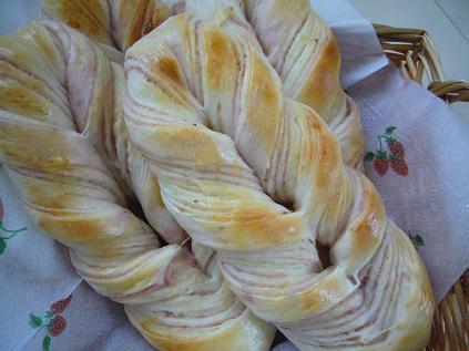 手作りシートで折り込みパン