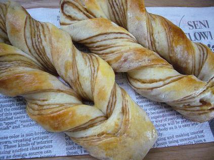 メープル折り込みパン