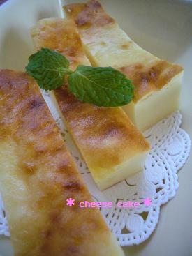 水切りヨーグルトdeチーズケーキ