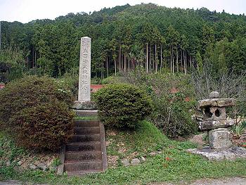 川上の『大田絵堂戦跡記念碑』-2