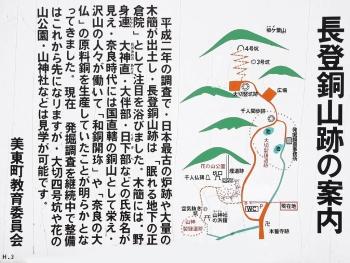 長登銅山跡:説明看板-2