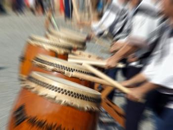長登太鼓の響き