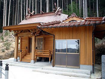高倉荒神新社殿-2