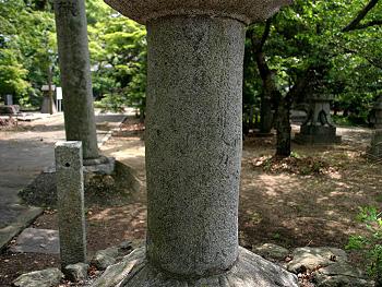 奇兵隊献納石燈籠-3
