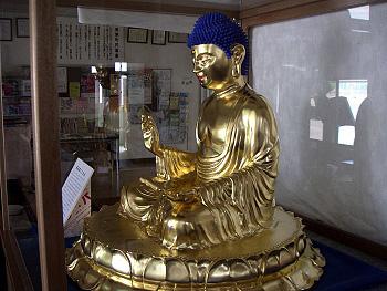 奈良登ミニ大仏公開-3