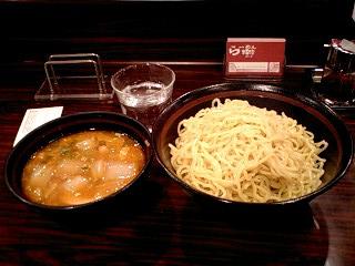 らーめん粋家@上野駅 つけ麺大盛 780円.jpg