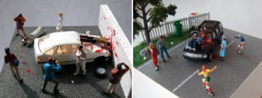 交通事故二連発