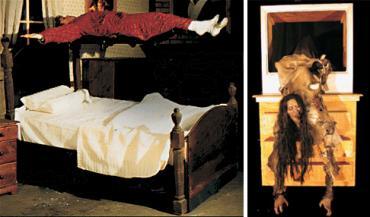 エクソシストベッドとリングテレビ