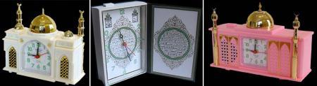 モスクやコーランの時計