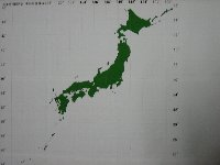 日本地図完成