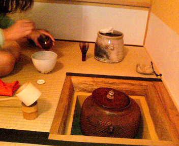 小間のお稽古(濃茶)