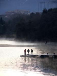 ひょうたん湖へ・・・