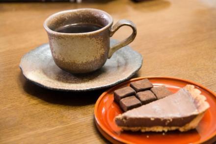チョコレートと・・・・。