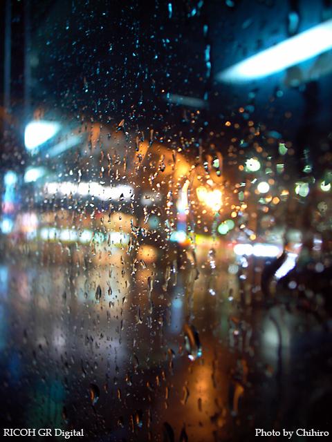【雨滴 in 青葉台】 GR Digital : ISO64, 絞り優先AE, WBオート, EV0, F2.4, 1/3s, sRGB