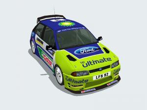 Ford Focus RS WRC 07 #3 Skin test