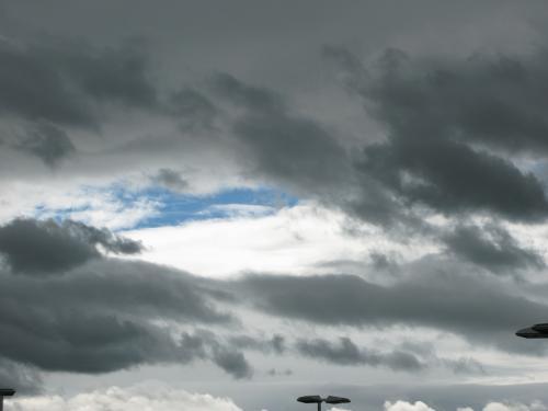 雲行き不調