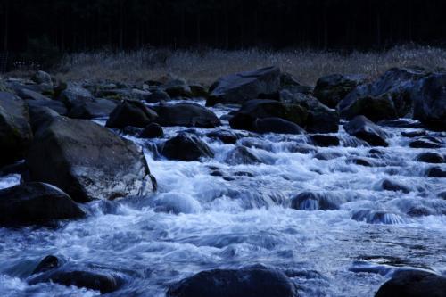 香落渓渓流