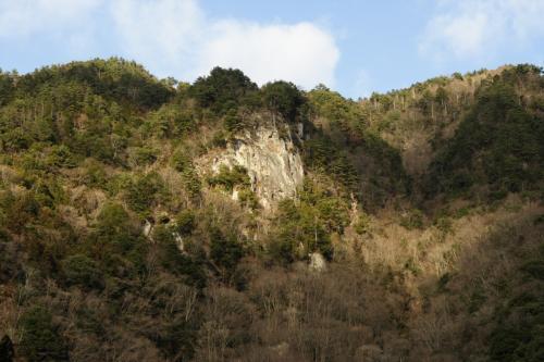 香落渓断崖