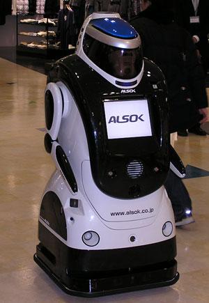 警備ロボット-2