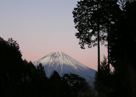 田貫湖と富士山5