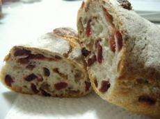 阿佐ヶ谷BAGEL クランベリーとヘーゼルナッツのパン2
