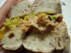 マルイチ シナモンレーズン(サツマイモと豆のサラダのとアップルシナモンクリチ)3