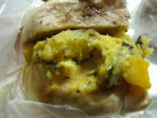 マルイチ シナモンレーズン(サツマイモと豆のサラダのとアップルシナモンクリチ)5