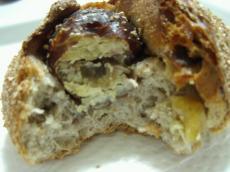 ブランジェリータケウチ ライ麦パンいが栗3