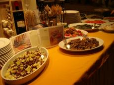 フィレンツェ 前菜ビュッフェ1