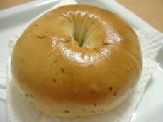 ミネリさんベーグル バジル&チーズ&ブラックペッパー1