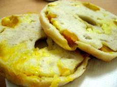 Browny bagel パンプキンチーズ2
