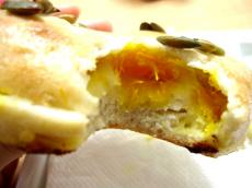 Browny bagel パンプキンチーズ3