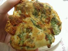 PAO 春菊とモッツレラチーズのパン1