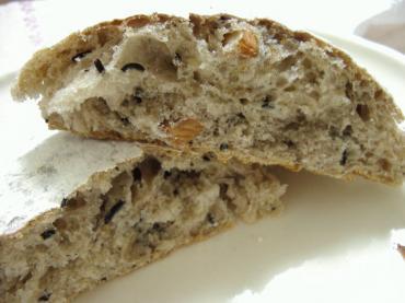 ゆきのパン屋 おからとひじきのパン2