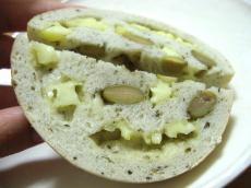 たむベーグル 枝豆チーズベーグル4