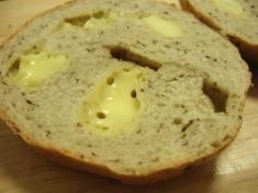 たむベーグル バジルチーズ2