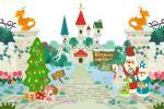クリスマスGLL城前