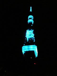 東京タワー☆ブルーブルー♪