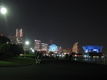 山下公園より(夜景)