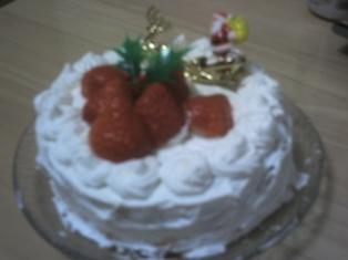 2006年クリスマスケーキ