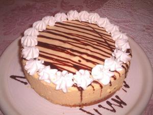 カスタードムースケーキ