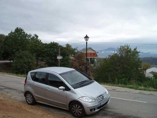 スペインで乗った車