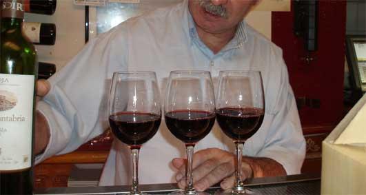 リオハのワイン