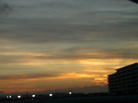 きれいな夕焼け。。。