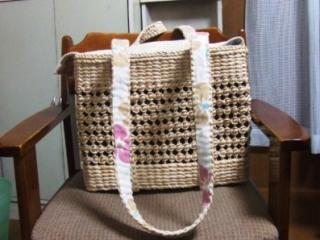 らんちゃんのキャリーバッグ