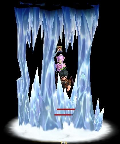 氷結のロングショット
