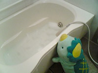 びっぐちゃんとお風呂