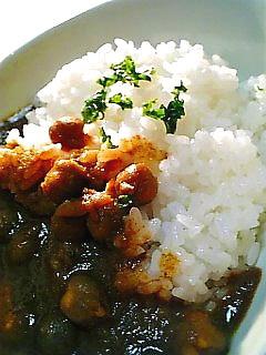 チャナ(ひよこ豆)カレー(中身)