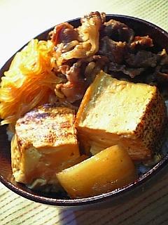 牛すき焼き丼b
